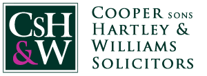 CSHW – Cooper sons Hartley & Williams